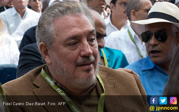 Putra Pemimpin Revolusi Kuba Fidel Castro Tewas Bunuh Diri - JPNN.com