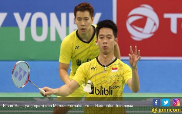 Raih Juara, Marcus/Kevin Ukir Rekor Hebat di India Open - JPNN.com
