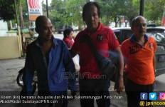 Usai Peluk Anak Istri, Kosim Ditangkap Polisi - JPNN.com