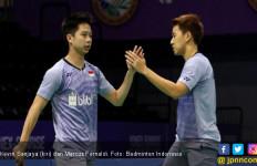 Menang dari Ahsan/Hendra, Marcus/Kevin Tak Jemawa, Lihat! - JPNN.com