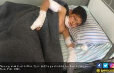 Penderitaan Anak-Anak Kurdi Dibombardir Pasukan Erdogan - JPNN.com