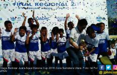 Naga Berkisar Juara Aqua Danone Cup 2018 Zona Sumatera Utara - JPNN.com