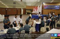 Cegah Difteri, 755 Personel Koarmabar Rela Disuntik - JPNN.com
