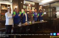 Jokowi Dapat Kartu Hijau dari Generasi Muda PAN - JPNN.com