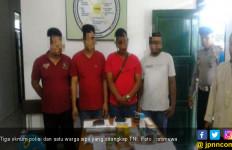 Tiga Oknum Polisi Ditangkap TNI karena Kasus Narkoba - JPNN.com