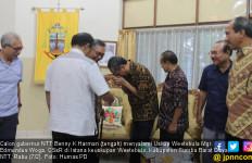 Cagub NTT Benny Bertemu Uskup dan Gelar Ritual Adat Sumba - JPNN.com