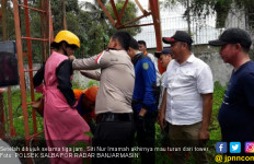 Mbak Siti Sudah di Ujung Tower, Setelah Dirayu, Hamdalah... - JPNN.com