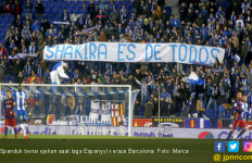 Espanyol Kena Denda Rp 401 Juta Gara-Gara Ejek Shakira - JPNN.com