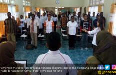 Kemensos Rekrut Tagana dan Bentuk KSB di Asmat - JPNN.com
