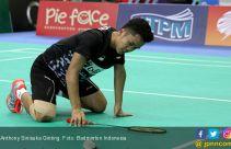 Ginting Kalah dengan Sangat Menyakitkan di Babak Pertama Denmark Open 2019 - JPNN.com