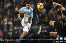 Lihat nih, Manchester City Sikat Leicester 5-1, Aguero 4 Gol - JPNN.com