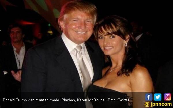 Ngobrol Sebentar, Trump dan Model Playboy Langsung Ngamar - JPNN.com