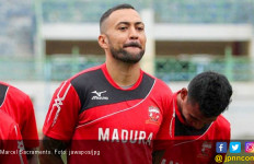 Marcel Sacramento Dicoret dari Skuat Madura United - JPNN.com