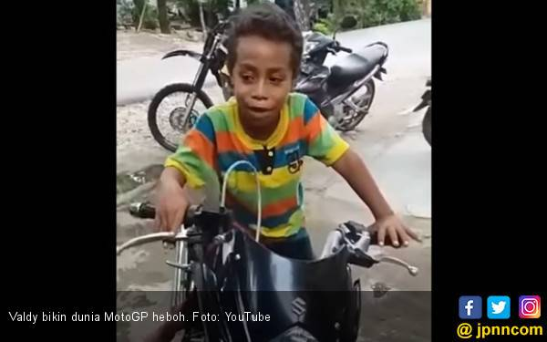 Bocah Asal Kupang Bikin Heboh MotoGP - JPNN.com