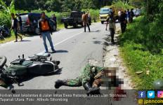 Peltu Miyajer Tewas Mengenaskan di Jalan Lintas Taput - JPNN.com