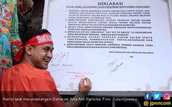 Ramzi Sindir Artis Tersandung Kasus Narkoba, Begini Katanya - JPNN.com