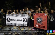 Komunitas Ojek Online Jadi Relawan Bala Badra - JPNN.com