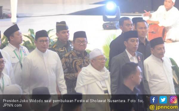 Buka Festival Selawat, Jokowi Titip Pesan Menggetarkan Hati - JPNN.com