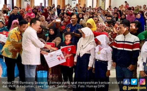 Bamsoet Puji Terobosan Jokowi soal Rastra dan PKH - JPNN.com