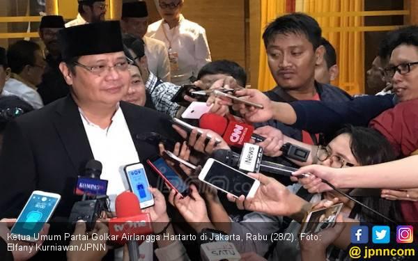 90 Persen Calon Kada Diincar KPK, Begini Reaksi Airlangga - JPNN.com