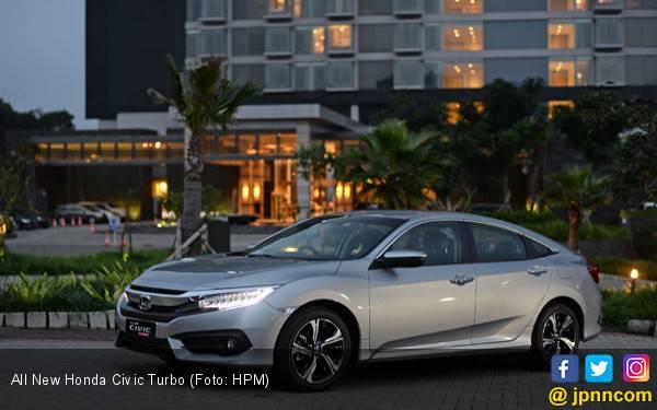 Februari, All New Civic Turbo Jadi Sedan Terlaris Honda - JPNN.com