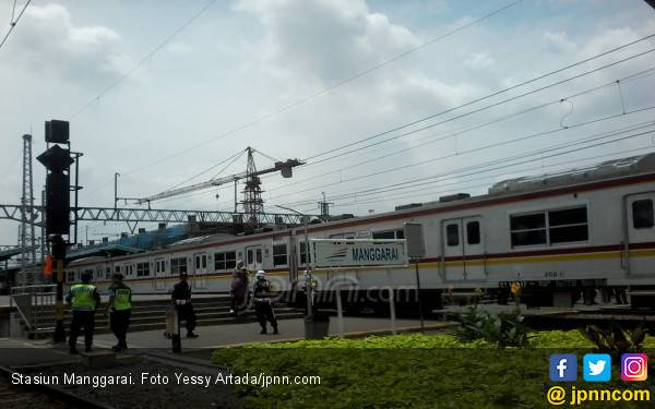 PascaTawuran di Manggarai, Perjalanan KRL Berangsur Normal - JPNN.com