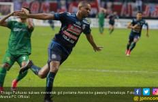 Madura United vs Arema FC: Thiago Siap Jebol Gawang Mantan - JPNN.com
