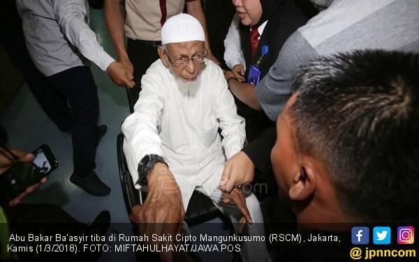 Baasyir Ogah Bersumpah Setia kepada Pancasila, Begini Reaksi Pak Jokowi - JPNN.com