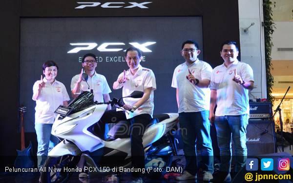 All New Honda PCX 150 Sapa Warga Jabar, Ini Harganya - JPNN.com
