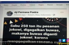 Narkoba Seludupan dan Buwas Pensiun Jadi Hoaks Serang Jokowi - JPNN.com
