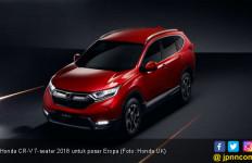 5 Perbedaan Honda CR-V 7-Seater di Eropa dengan Indonesia - JPNN.com