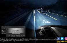 Teknologi Lampu Mercedes Benz Bisa Berkomunikasi, Bagaimana? - JPNN.com