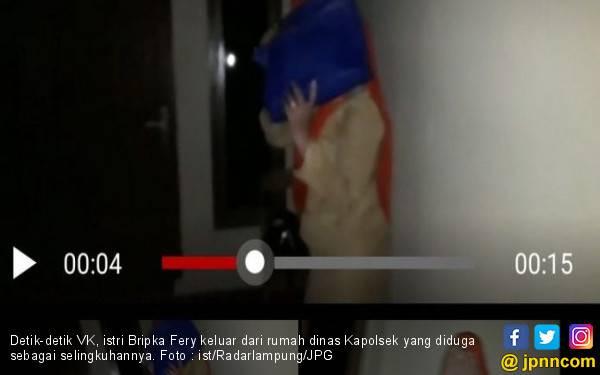 Bripka Fery Rekam Istrinya Pulang Malam dari Rumah Kapolsek - JPNN.com
