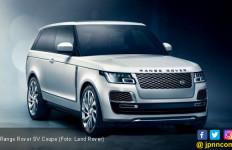 Range Rover SV Coupe Tampil Spesial Hanya 999 Unit di Dunia - JPNN.com