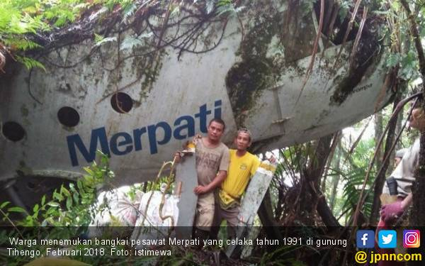 Heboh Penemuan Bangkai Pesawat Merpati - JPNN.com