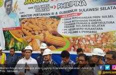 Ekspor Jagung di Makassar, Mentan: Dulu Impor 3,6 Juta Ton - JPNN.com