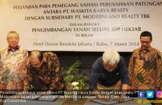 Waskita Karya Realty Bangun Kota Mandiri Seluas 350 Hektare - JPNN.com
