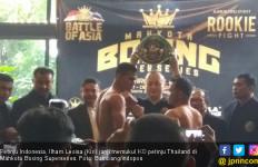 Ilham Leoisa Janji Bikin Petinju Thailand Tersungkur - JPNN.com