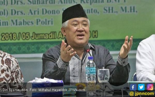 3 Alasan Din Mengundurkan Diri dari Jabatan Utusan Presiden - JPNN.com