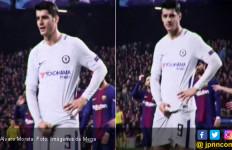 Aduh! Alvaro Morata Berikan Gestur Cabul Buat Fan Barcelona - JPNN.com