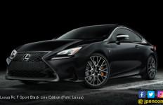 Lexus RC F Sport Tampil Serba Gelap di New York - JPNN.com
