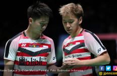 Lihat Marcus/Kevin Menggebuk Ganda Taiwan, Satu Berkacamata - JPNN.com