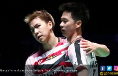 Keanehan yang Bikin Marcus/Kevin Sempat Goyang di Semifinal - JPNN.com