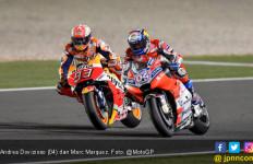 Dovizioso Kaget Lihat Marquez Langsung Gila di MotoGP Qatar - JPNN.com