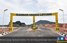 Tingkatkan Wisata di Kepulauan Anambas, Bandara Letung Diresmikan - JPNN.com
