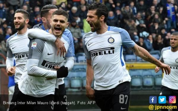 Cetak 4 Gol untuk Inter Milan, Mauro Icardi Ukir Rekor - JPNN.com