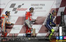 Pengakuan Marquez Usai Gagal Menyalip Dovi di MotoGP Qatar - JPNN.com