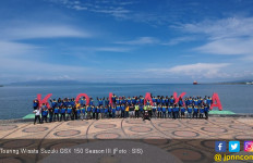 85 Rider Suzuki GSX 150 Jelajah Alam Sulteng - JPNN.com