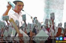 Optimisme Jokowi soal Target Jutaan Sertifikat untuk Rakyat - JPNN.com