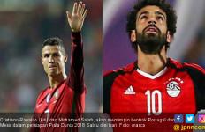 Duel Jelang Piala Dunia 2018: Ronaldo Vs Salah - JPNN.com